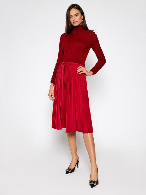 Sportmax Code Trikotažinė suknelė Gastone 73260205 Raudona Regular Fit