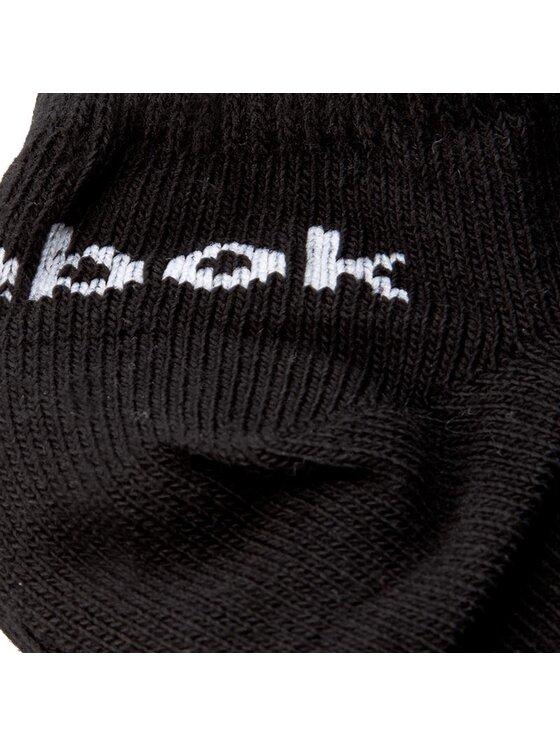Reebok Reebok Комплект 3 чифта къси чорапи унисекс Roy U Inside Sock 3x2 AB5277 Черен