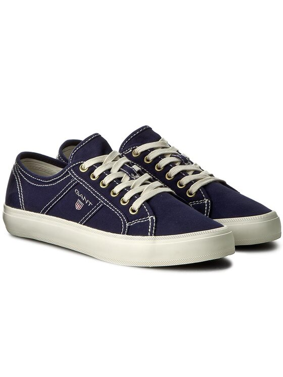 Gant Gant Πάνινα παπούτσια Zoe 14538641 Σκούρο μπλε