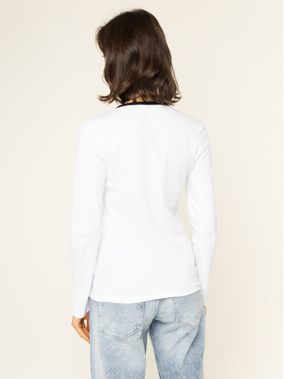 Calvin Klein Jeans Calvin Klein Jeans Блуза J20J213067 Бял Regular Fit