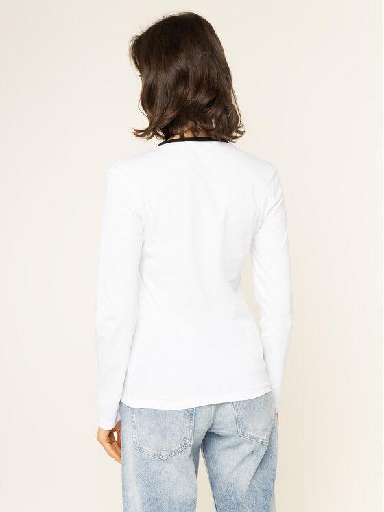 Calvin Klein Jeans Calvin Klein Jeans Halenka J20J213067 Bílá Regular Fit