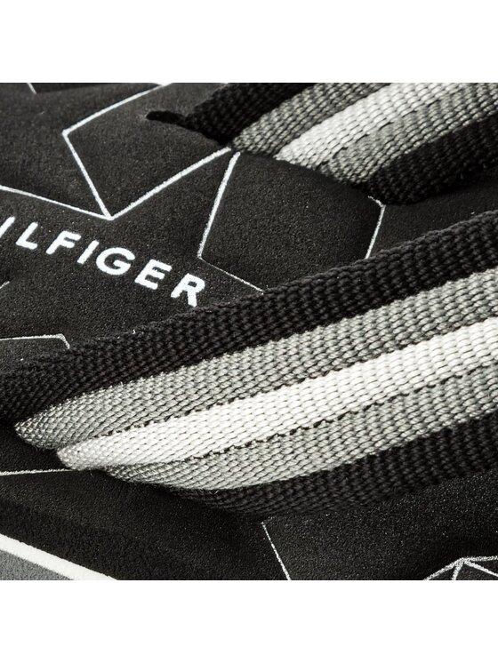 Tommy Hilfiger Tommy Hilfiger Šlepetės per pirštą Comfort Low Beach Sandal FW0FW02368 Pilka