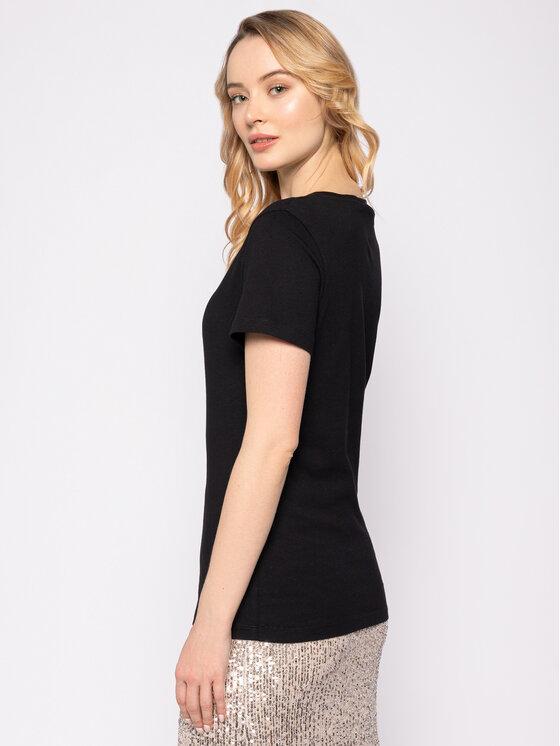 Calvin Klein Jeans Calvin Klein Jeans T-Shirt Institutional J20J212235 Μαύρο Regular Fit