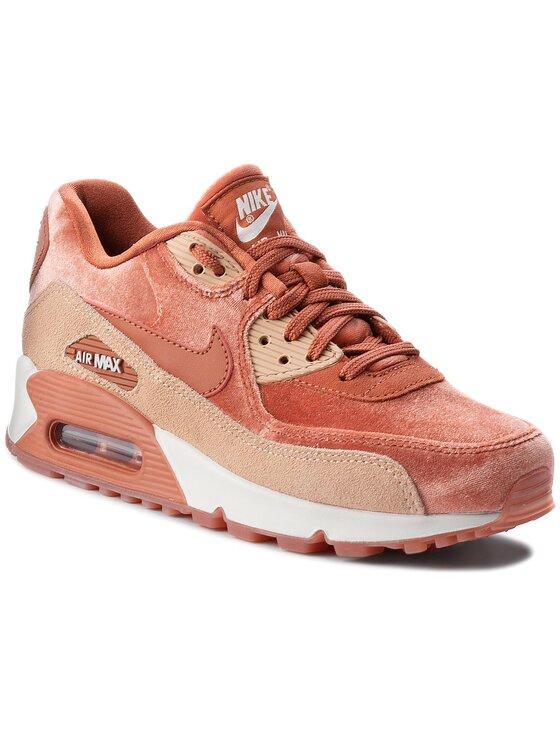Nike Nike Buty Air Max 90 Lx 898512 201 Różowy