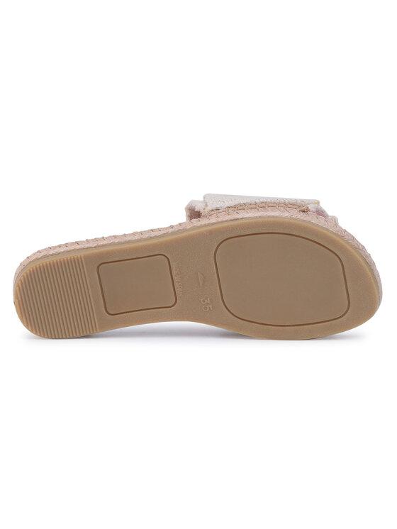 Manebi Manebi Espadryle Sandals With Knot B 3.0 J0 Beżowy