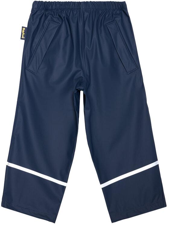 Playshoes Playshoes Spodnie przeciwdeszczowe 405423 M Granatowy Regular Fit