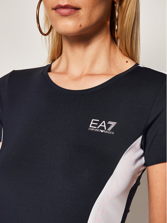 EA7 Emporio Armani EA7 Emporio Armani T-Shirt 3HTT40 TJ56Z 1554 Tmavomodrá Regular Fit