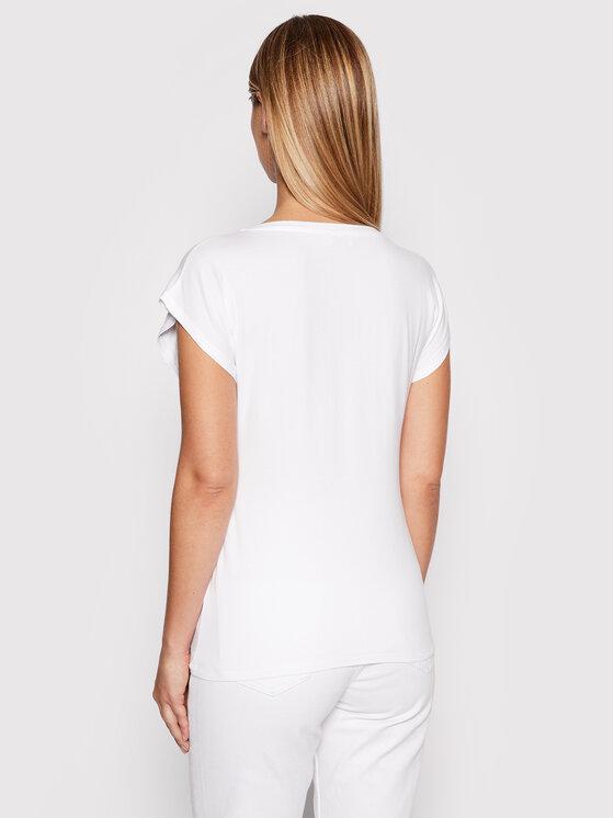 Liu Jo Liu Jo T-shirt WF1139 J0166 Bijela Regular Fit