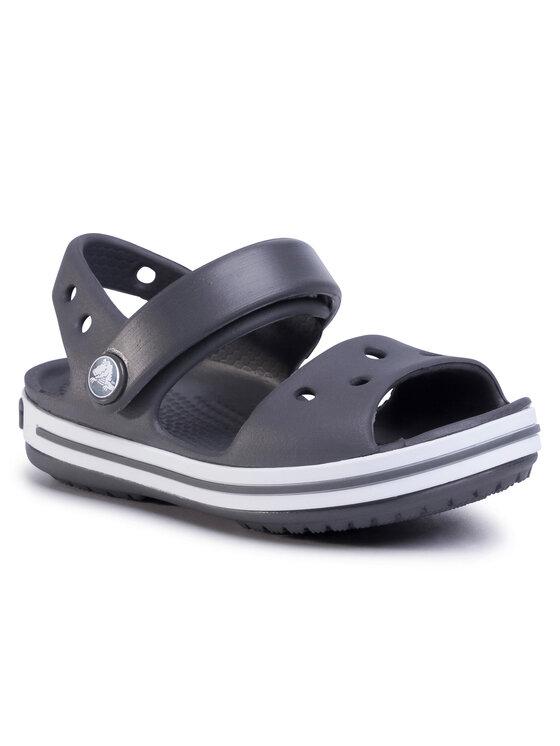 Crocs Basutės Crocband Sandal Kids 12856 Pilka