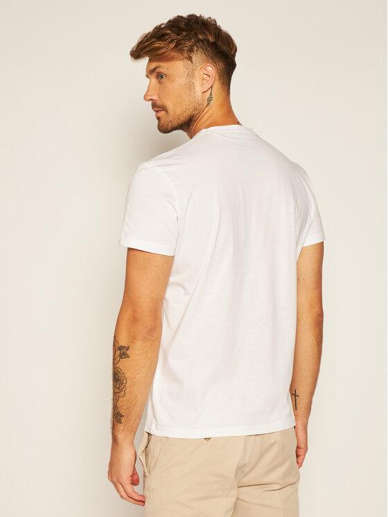 Pepe Jeans Pepe Jeans T-Shirt Eggo PM501389 Bílá Regular Fit