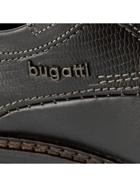 Bugatti Bugatti Półbuty Bene U9008-1 Czarny