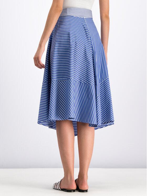 Marella Marella Trapézová sukně 31010495 Modrá Regular Fit