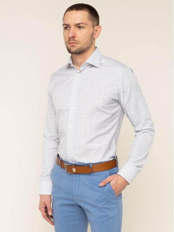 Eton Marškiniai 100000509 Balta Slim Fit