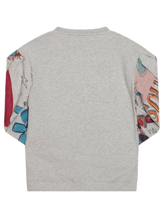 Desigual Desigual Bluza Maine 20WGSK22 Szary Regular Fit