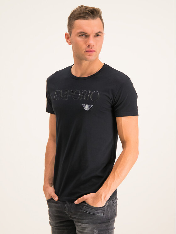 Emporio Armani Underwear Emporio Armani Underwear T-Shirt 111035 CC716 00020 Černá Slim Fit
