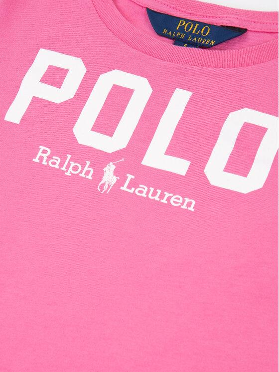 Polo Ralph Lauren Polo Ralph Lauren Тишърт Icon Tee 312793933 Розов Regular Fit