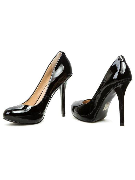 Guess Guess Pantofi cu toc subțire Monda FL4MON PAT08 Negru