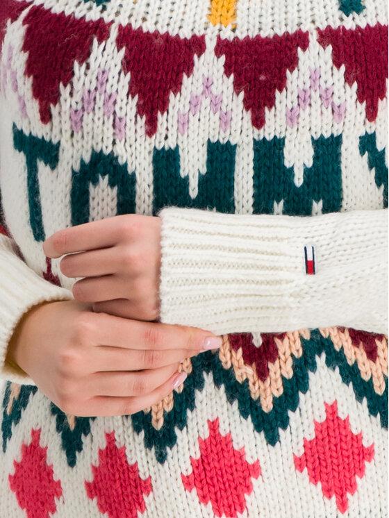 Tommy Jeans Tommy Jeans Sweter Tjw Fairisle DW0DW07188 Kolorowy Regular Fit