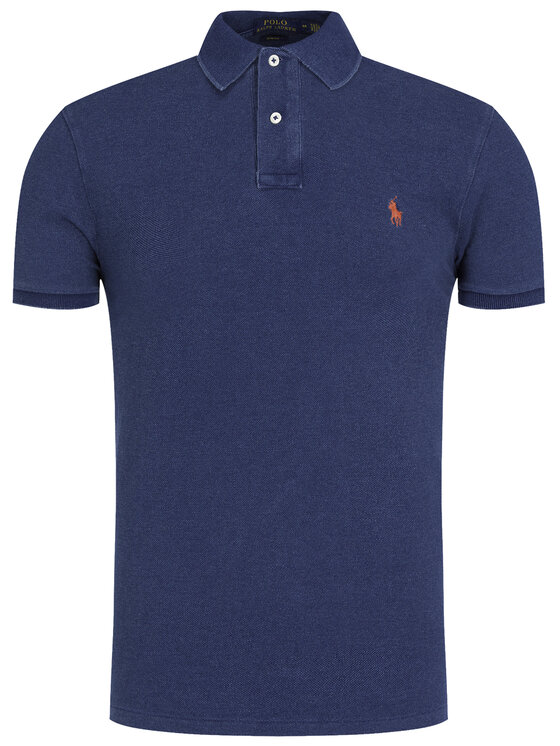 Polo Ralph Lauren Polo Ralph Lauren Tricou polo 710536856 Bleumarin Slim Fit
