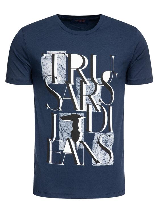Trussardi Jeans Trussardi Jeans Тишърт 52T00276 Тъмносин Regular Fit