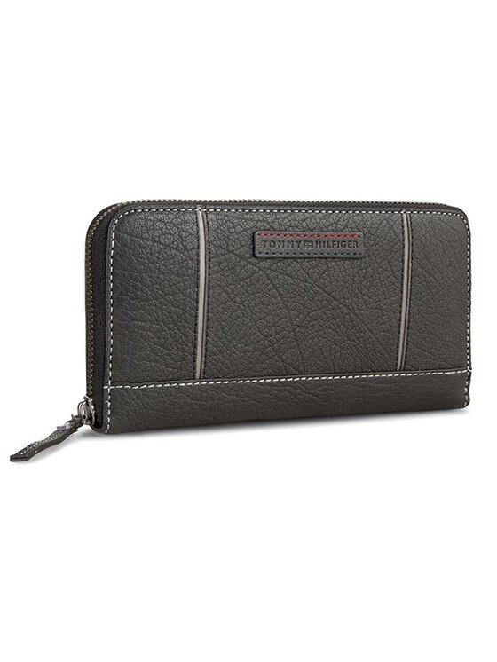 Tommy Hilfiger Tommy Hilfiger Голям дамски портфейл Cologne Large Z/A Wallet AW0AW01117 Черен