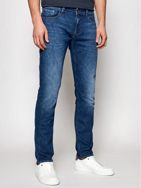 Joop! Jeans Džinsai 15 Jjd-89Stephen_PW 30026889 Tamsiai mėlyna Slim Fit
