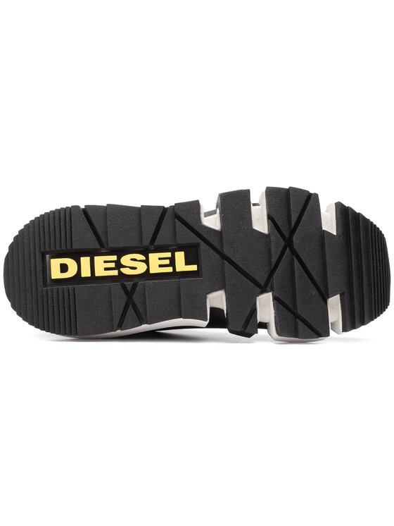 Diesel Diesel Сникърси H-Padola High Sock W Y02002 P2177 T8013 Черен