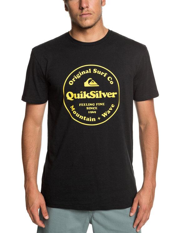 Quiksilver Quiksilver T-shirt EQYZT05265 Nero Regular Fit