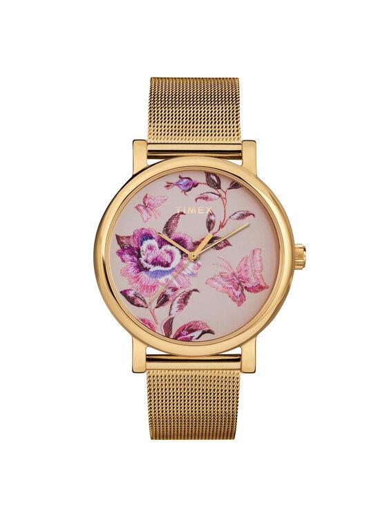 Timex Laikrodis Full Bloom TW2U19400 Auksinė