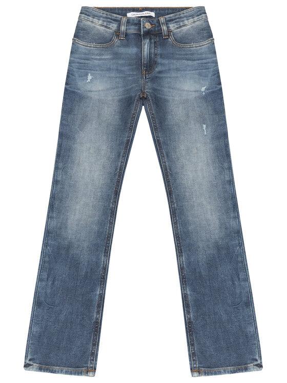 Calvin Klein Jeans Calvin Klein Jeans Jeansy IB0IB00160 Granatowy Slim Fit