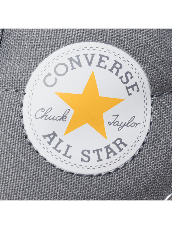 Converse Converse Trampki Ctas Street Mid 665132C Szary