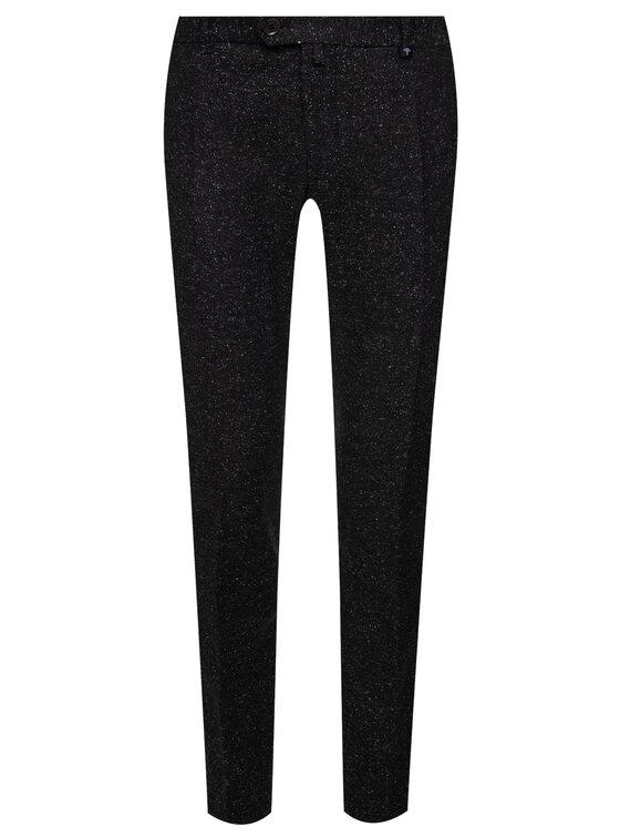 Joop! Joop! Текстилни панталони 30017671 Черен Slim Fit