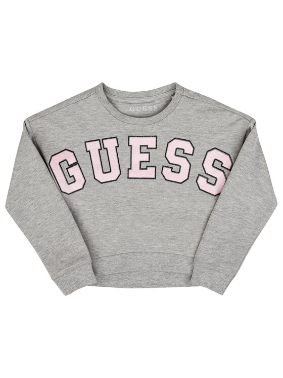 Guess Guess Felpa K93Q01 K87L0 Grigio Regular Fit