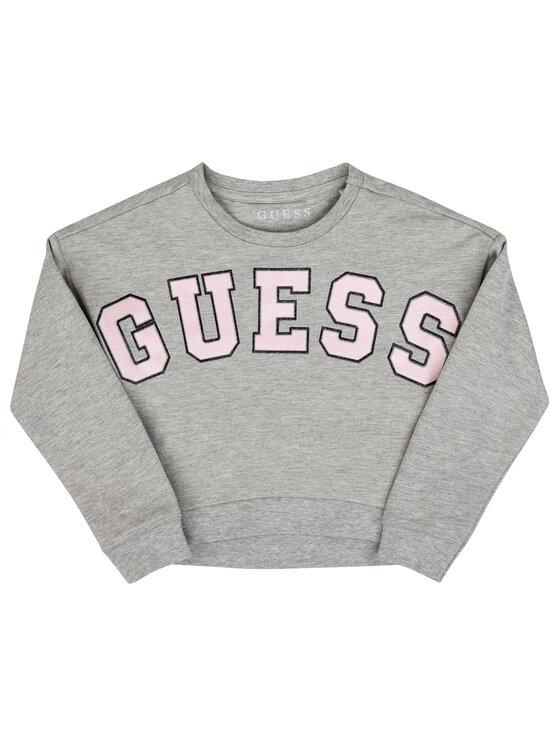 Guess Guess Μπλούζα K93Q01 K87L0 Γκρι Regular Fit