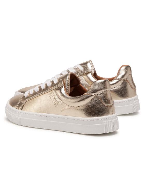 Boss Boss Sneakersy J19044 M Złoty