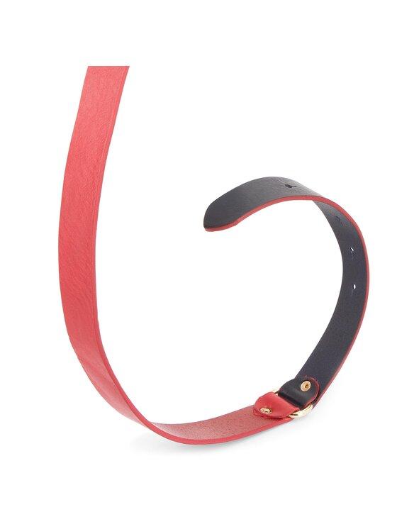 Tommy Hilfiger Tommy Hilfiger Ζώνη Γυναικεία Th Seasonal Belt 3.0 AW0AW05882 Κόκκινο