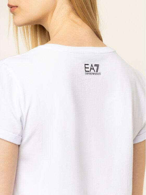 EA7 Emporio Armani EA7 Emporio Armani T-Shirt 3HTT30 TJ12Z 1100 Weiß Regular Fit