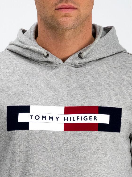 TOMMY HILFIGER TOMMY HILFIGER Felpa Logo MW0MW11579 Grigio Regular Fit