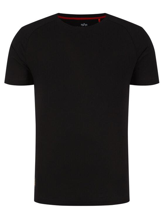 Alpha Industries Alpha Industries T-Shirt Al Tape 198513 Μαύρο Regular Fit