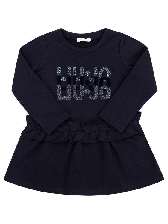 Liu Jo Kids Liu Jo Kids Sukienka codzienna K69077 F0090 Granatowy Regular Fit