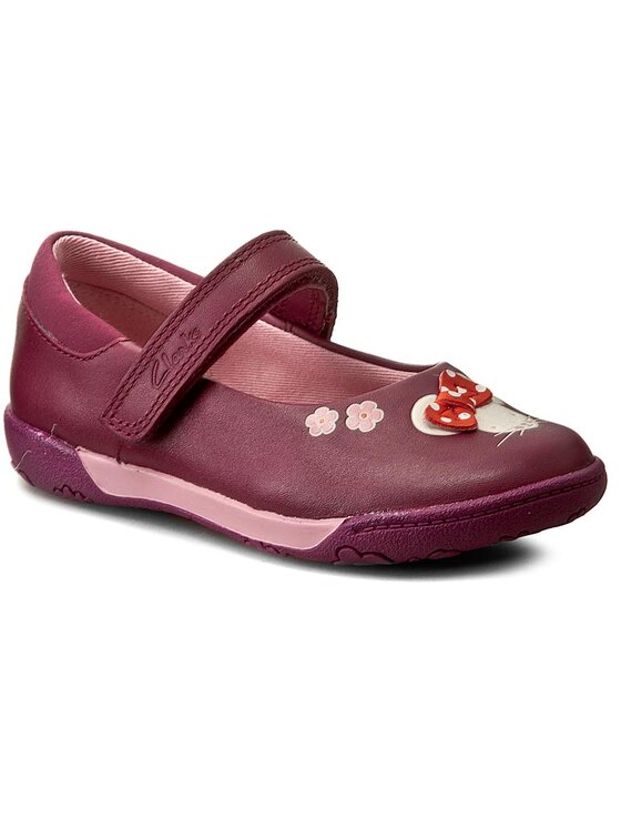 Clarks Clarks Ballerines NibblesFay Inf 261191306 Rose