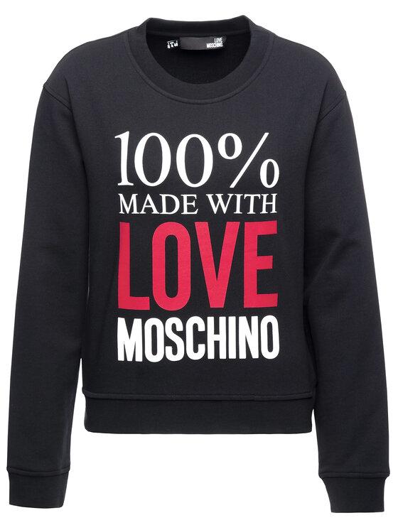 LOVE MOSCHINO LOVE MOSCHINO Džemperis W630623M 4055 Juoda Regular Fit