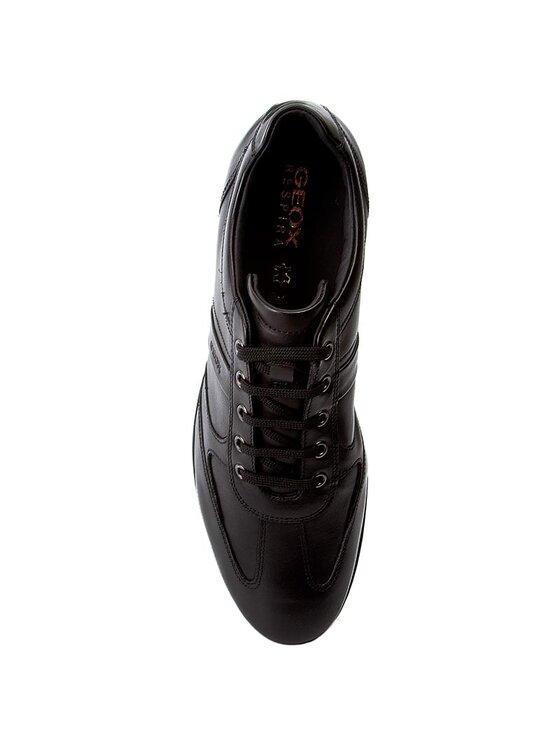 Geox Geox Κλειστά παπούτσια U Symbol C U32A5C 00043 C9999 Μαύρο
