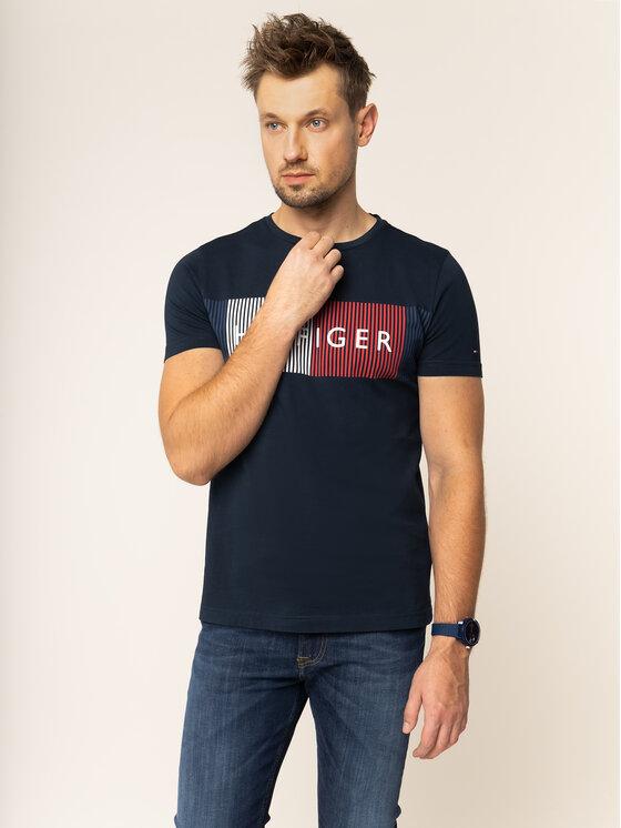Tommy Hilfiger Tommy Hilfiger T-shirt MW0MW10829 Bleu marine Regular Fit