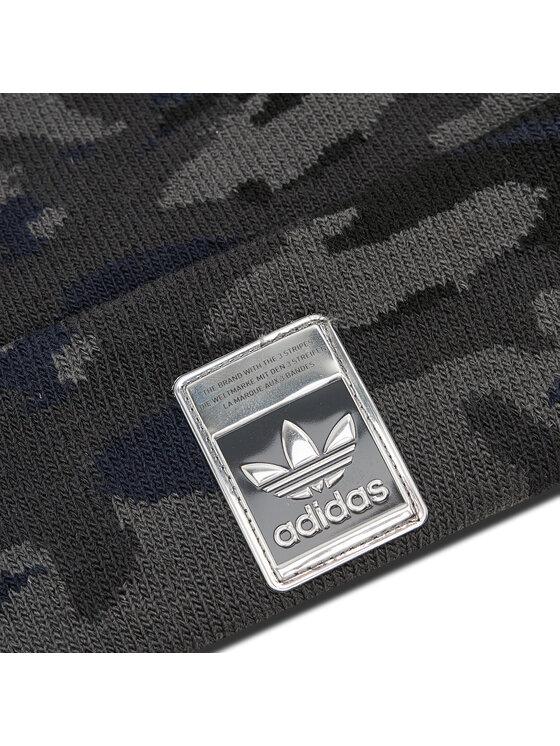 adidas adidas Czapka Camo Beanie H25293 Szary