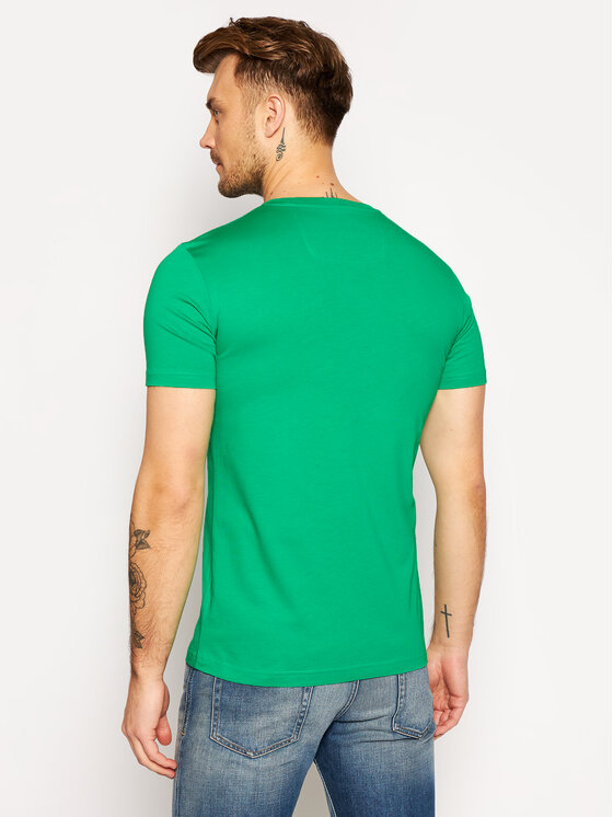 POC POC T-Shirt 61602 Zielony Regular Fit