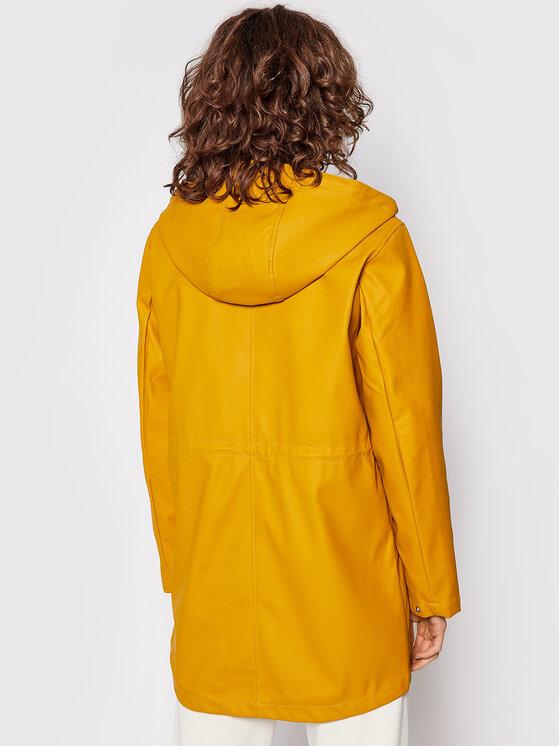 Vero Moda Vero Moda Kurtka przeciwdeszczowa Malou 10247789 Żółty Regular Fit