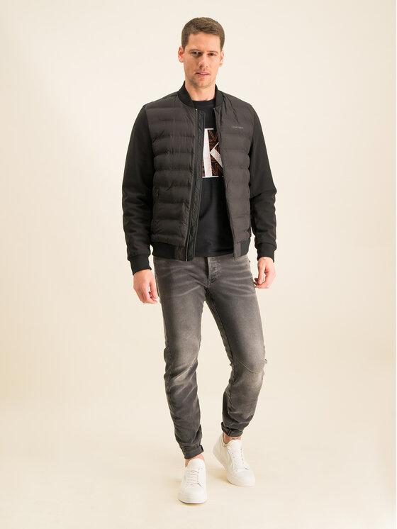Calvin Klein Jeans Calvin Klein Jeans Marškinėliai Graphic J30J314229 Juoda Regular Fit