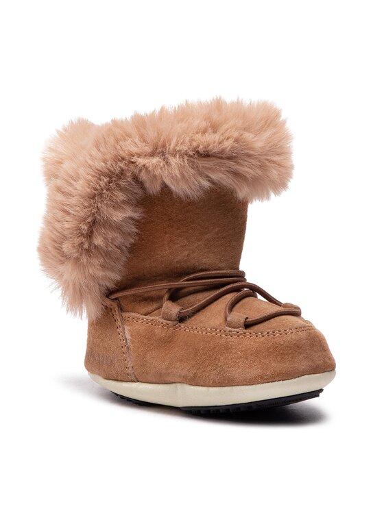 Moon Boot Sniego batai Crib Suede 34010300001 Ruda