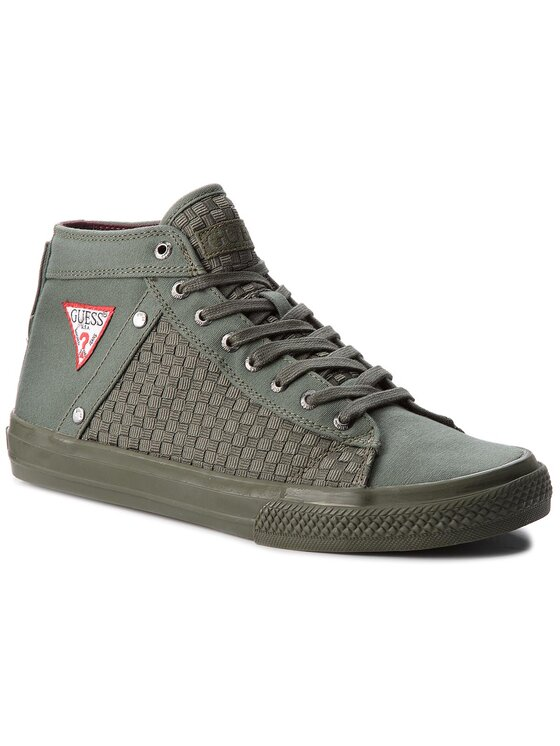 Guess Guess Sneakersy FMBNE3 FAB12 Zielony